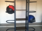 TRU-Wall Ball Rack with Shelves